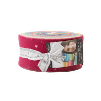 Moda Fabric Precuts Jelly Roll - Ombre Bloom by V and Co