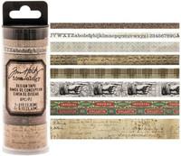 Tim Holtz - Idea-0logy Design Washi Tape - Set of 8 - Aristocrat