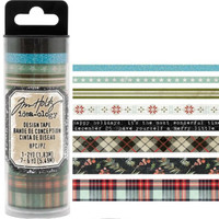 Tim Holtz - Washi Tape - Set of 8 - Christmas