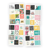 Carpe Diem - Insta Quote Stickers - 8 Sheets