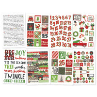 Carpe Diem - Simple Stories - Very Merry Stickers - 8 Sheets