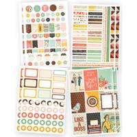 Carpe Diem - The Reset Girl - Planner Basics - 8 Sheets
