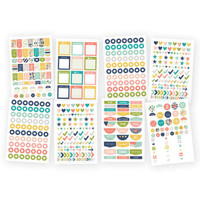 Carpe Diem - Planner Basics Stickers - Posh - 8 Sheets