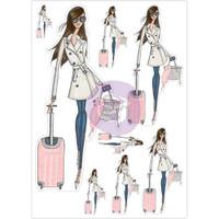 My Prima Planner - Josefina Planner Stickers - Bon Voyage
