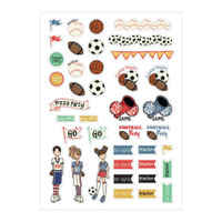 My Prima Planner - Julie Nutting - Planner Stickers - Sports