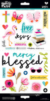 Illustrated Faith - Cardstock Stickers - Everyday Icons