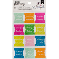 American Crafts - Bible Journaling - Sticker Tabs