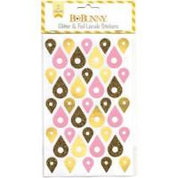 BoBunny - Glitter & Foil Locale Stickers