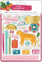 American Crafts - Amy Tangerine -  Hustle & Heart - Sticker Book