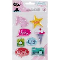 Shimelle - Glitter Girl Shaker Stickers