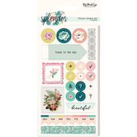 My Minds Eye - Splendor - Planner Stickers