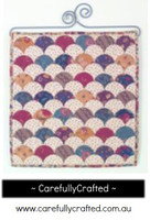 Clamshells Wallhanging Little Things Quilt Pattern - Sue Daley Designs