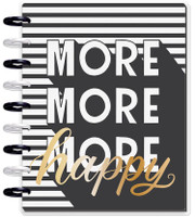 ***IMPERFECT*** The Happy Planner - Me and My Big Ideas - 2019 - 2020 Happy Planner Classic - Sugar/Type More Happy (Dated, Horizontal)
