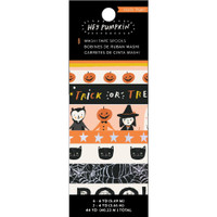 Crate Paper - Hey, Pumpkin - Washi Tape - Set of 8