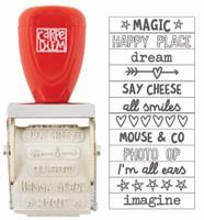 Carpe Diem - Simple Stories - Say Cheese III Rotary Stamp