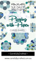 Curved Shapes Playing with Paper Instructional Booklet - Sue Daley Designs