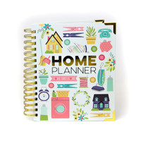 Carpe Diem - Home Spiral Planner (Undated)