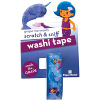 Paper House - Scratch & Sniff Washi Tape - Grape Mermaids
