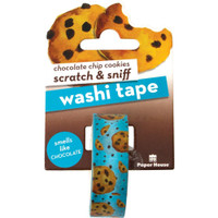 Paper House - Scratch & Sniff Washi Tape - Chocolate Chip Cookies