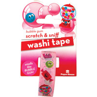 Paper House - Scratch & Sniff Washi Tape - Bubble Gum