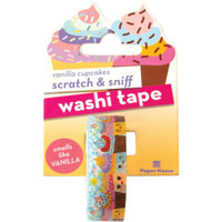 Paper House - Scratch & Sniff Washi Tape - Vanilla Cupcakes