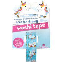 Paper House - Scratch & Sniff Washi Tape - Whipped Cream Unicorn