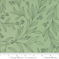 Moda Fabric - Little Tree - Lella Boutique - Mistletoe Light Green #5092 12