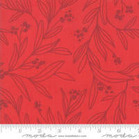 Moda Fabric - Little Tree - Lella Boutique - Mistletoe Red #5092 13