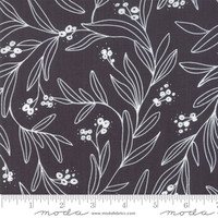 Moda Fabric - Little Tree - Lella Boutique - Mistletoe Black #5092 14