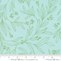 Moda Fabric - Little Tree - Lella Boutique - Mistletoe Aqua #5092 16