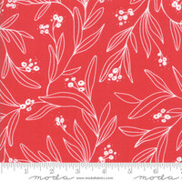 Moda Fabric - Little Tree - Lella Boutique - Mistletoe Red #5092 23