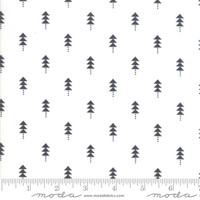 Moda Fabric - Little Tree - Lella Boutique - Little Trees Black #5094 11