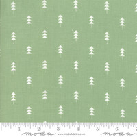 Moda Fabric - Little Tree - Lella Boutique - Little Trees Light Green #5094 12