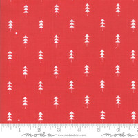 Moda Fabric - Little Tree - Lella Boutique - Little Trees Red #5094 13