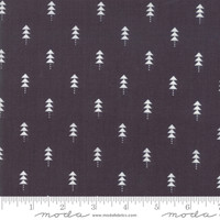 Moda Fabric - Little Tree - Lella Boutique - Little Trees Black #5094 14