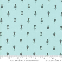 Moda Fabric - Little Tree - Lella Boutique - Little Trees Aqua #5094 16