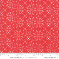 Moda Fabric - Little Tree - Lella Boutique - Embossed Red #5095 13