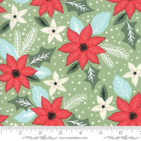 Moda Fabric - Little Tree - Lella Boutique - Bouquet Light Green #5091 12