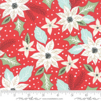 Moda Fabric - Little Tree - Lella Boutique - Bouquet Red #5091 13