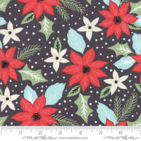 Moda Fabric - Little Tree - Lella Boutique - Bouquet Black #5091 14