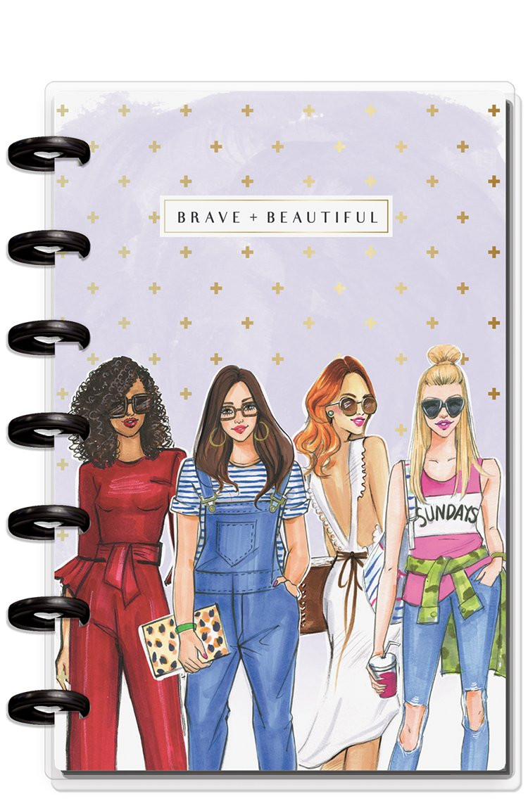 Classic Size Everyday RongRong Girl Happy Planner New Release 2019 Dashboard