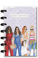 Me and My Big Ideas - Mini Happy Planner - Rongrong - Brave & Beautiful (Dated, Dashboard)