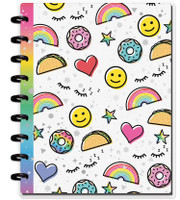 Me and My Big Ideas - Classic Happy Notes - Radiate Positivity (Dotted Line)