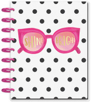 The Happy Planner - Me and My Big Ideas - 2019 Classic Happy Planner - Shine Bright - 12 Months (2019-2020)(Dated, Color Block Vertical Layout)