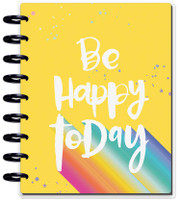 The Happy Planner - Me and My Big Ideas - Classic Guided Journal - Be Happy Today