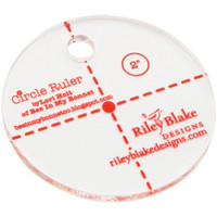 Riley Blake Designs - Lori Holt of Bee in my Bonnet - Circle Ruler 2""
