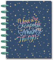 The Happy Planner - Me and My Big Ideas - Classic Guided Journal - You Are Capable - Gratitude