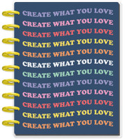The Happy Planner - Me and My Big Ideas - Classic Guided Journal - You Are Enough - Wellness