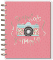 ***IMPERFECT*** Me and My Big Ideas - DELUXE Happy Memory Keeping Planner - Big - Painted Memories (Undated)