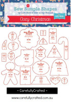 Lori Holt - Sew Simple Shapes Templates - Cozy Christmas